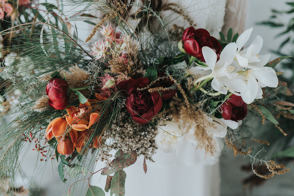 Wild foliage and watercolours with Debbie Lourens + Kadou Floral Design