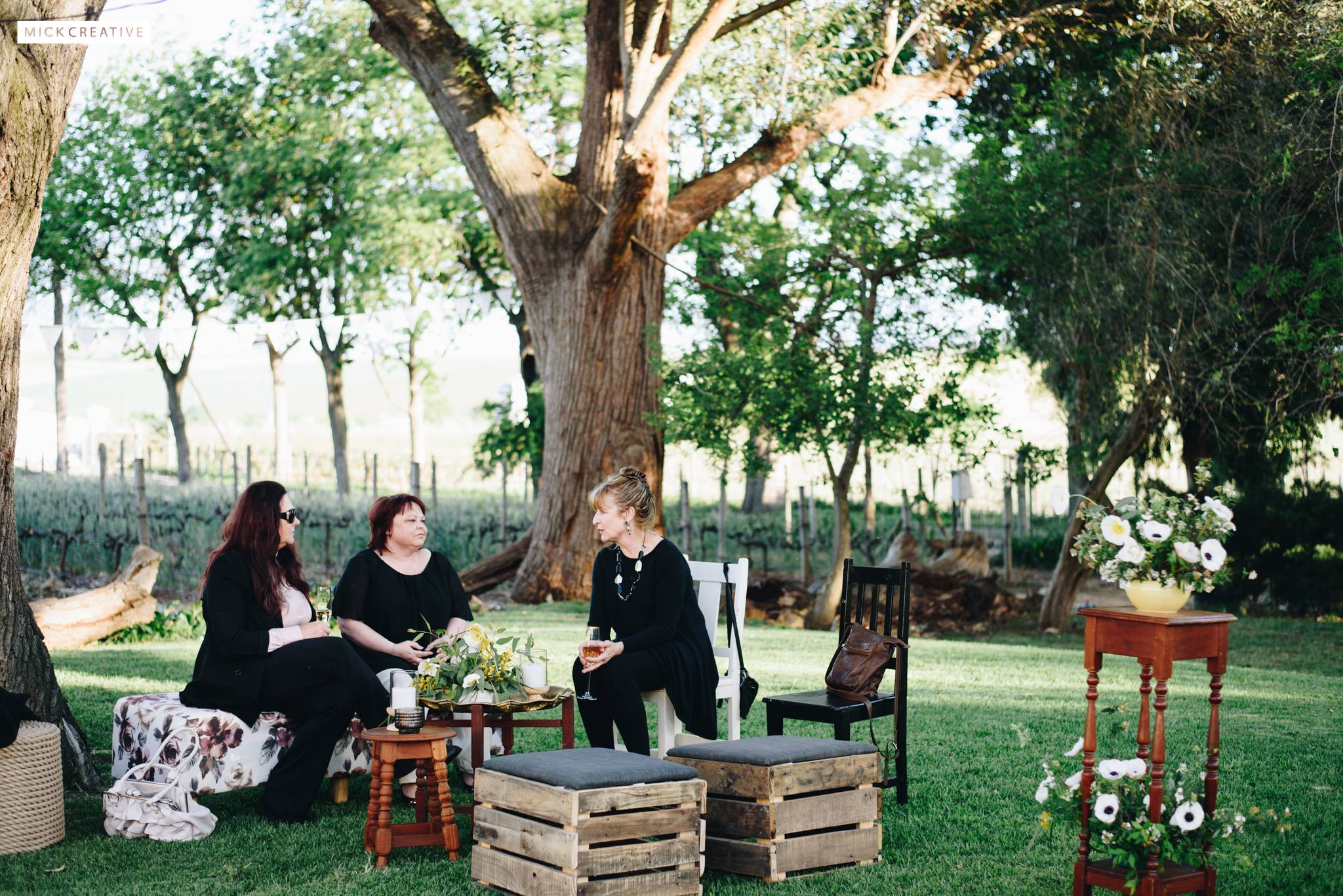 Al fresco birthday celebration with Mick Creative + Kadou Floral Design