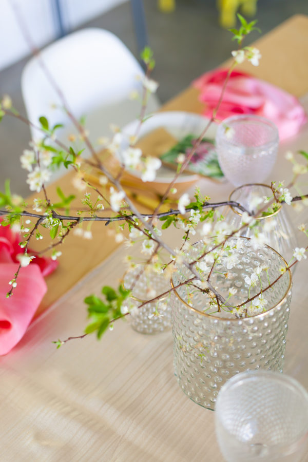 Gold and pink baby shower inspiration with Nelani Photography + Kadou Floral Design