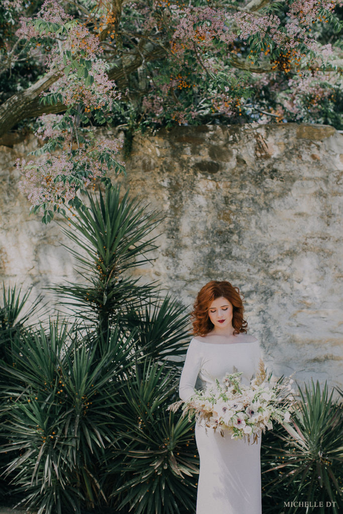 White wedding inspiration with Michelle DT Photography + Kadou